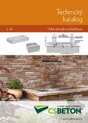 Technical catalogue II CS-BETON